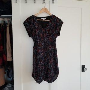 BCBG Hi-Low V-neck Dress